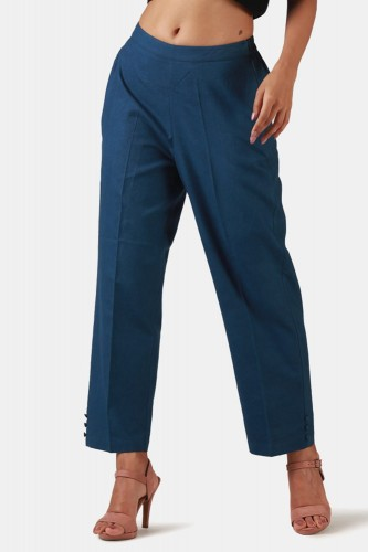 Heba Indigo Malmal Narrow Pants